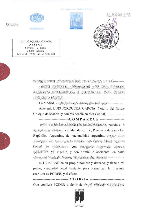 перевод документов на испанский язык образец